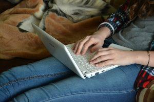 academic writing laptop